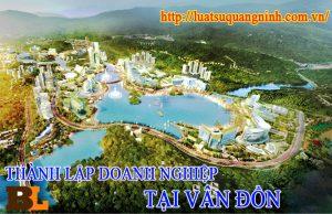 Thành lập công ty tại Vân Đồn - Quảng Ninh