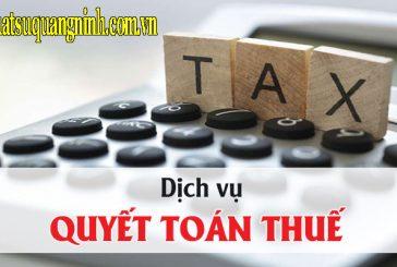 Dịch vụ quyết toán thuế tại Quảng Ninh