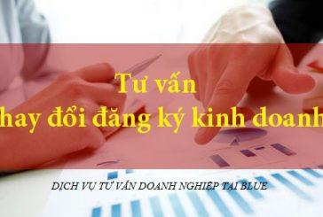 Các thủ tục thay đổi đăng ký kinh doanh tại Quảng Ninh