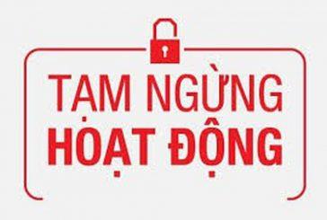 Tư vấn thủ tạm tạm ngừng và kinh doanh trở lại trước thời hạn tạm ngừng tại Quảng Ninh